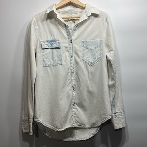 Rag and bone button up XS